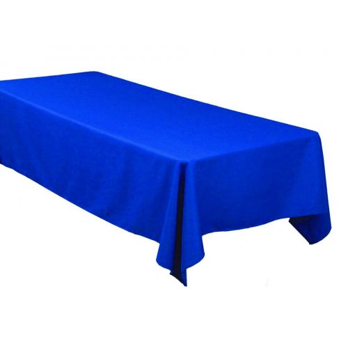 Obrus - kráľovská modra