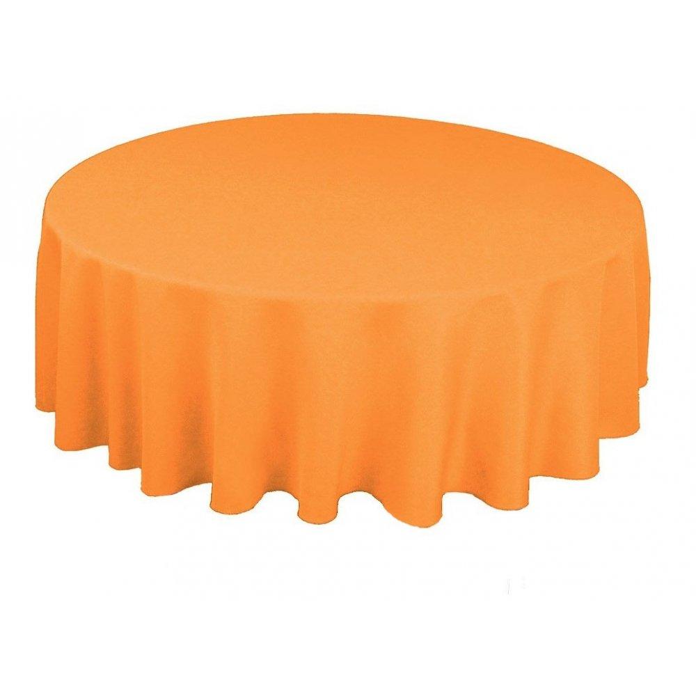 Obrus - oranžový
