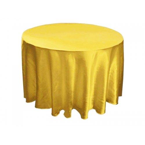 Saténový obrus zlatá - rôzne rozmery
