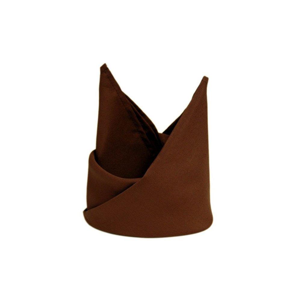 Prestieranie čokoladovo-hnedé 33 x 33 cm