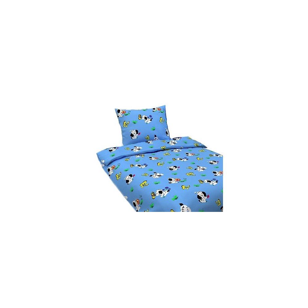 Detské návliečky- Dalmatín modrý