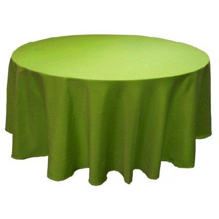Obrus kruhový K10 - hráškovo-zelený
