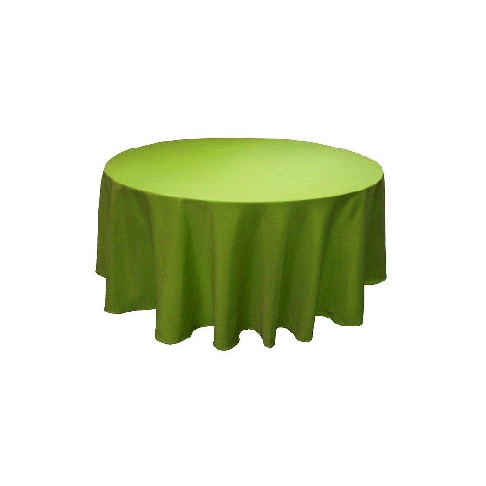 Obrus kruhový K12 - hráškovo-zelený