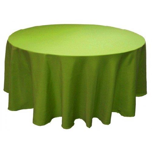 Obrus kruhový K14 - hráškovo-zelený