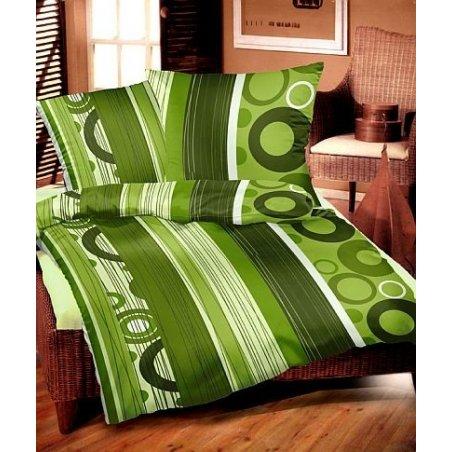 Srdečná zelená 200 x 220 cm