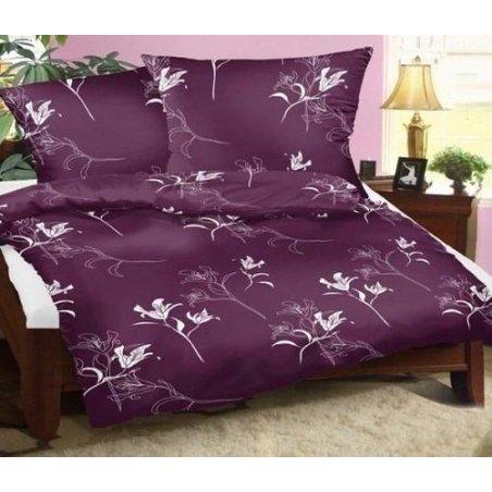 Obliečky Kali fialové 140 x 200 cm