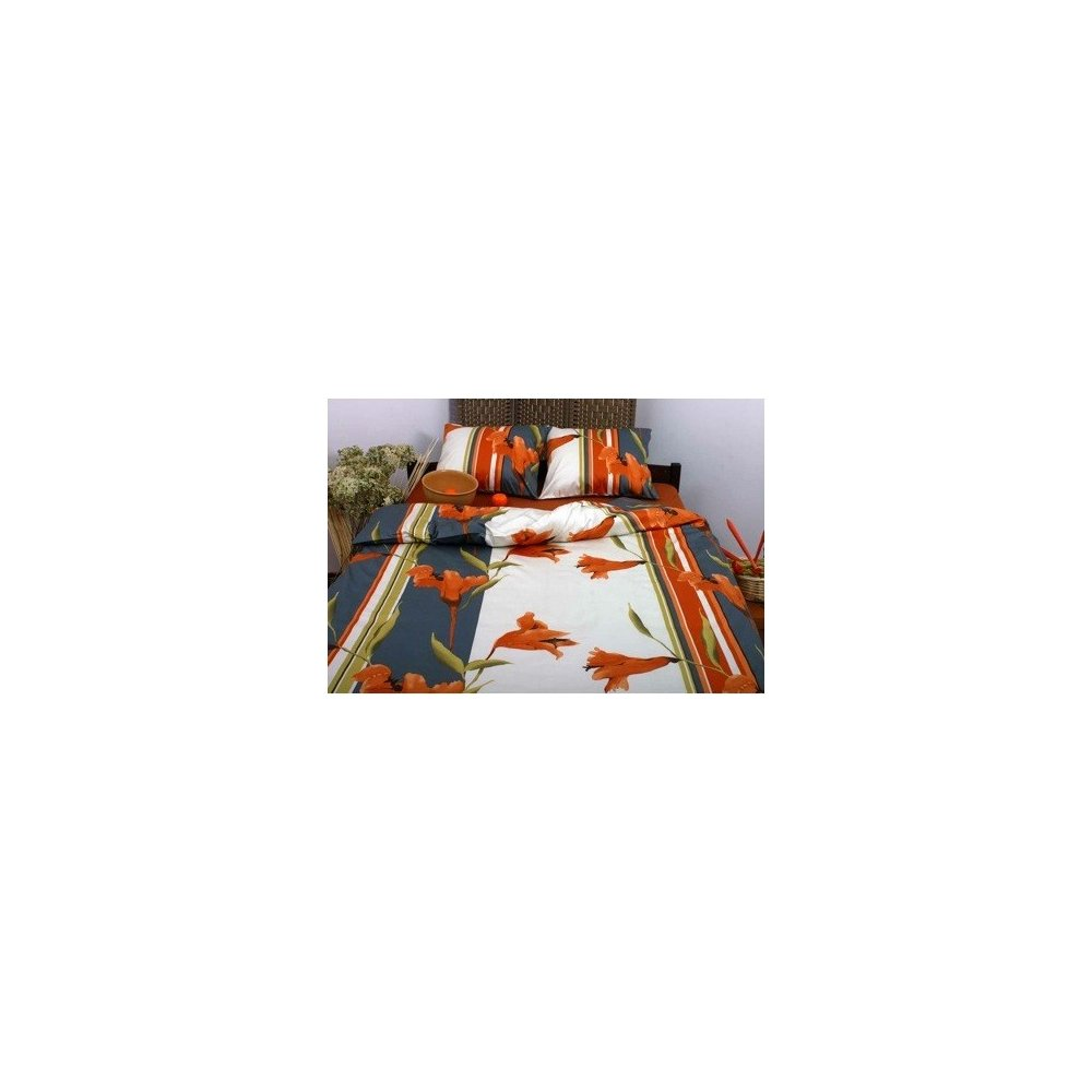 Lalia oranžová 140 x 220 cm
