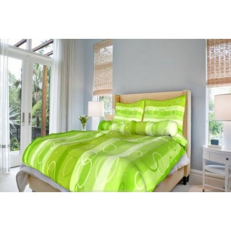 Obliečky Beba zelená 140 x 200 cm
