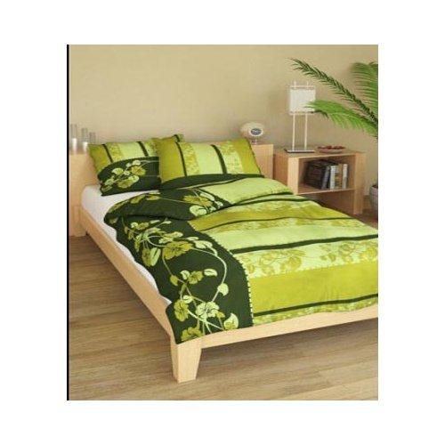 Obliečky Deni zelené 140 x 200 cm