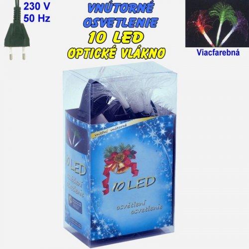 Vnútorné osvetlenie - LED-10 optické vlákna - Viacfarebná