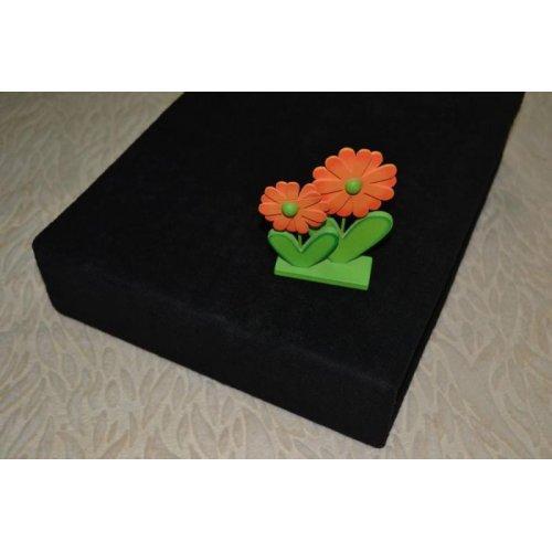 Plachta froté - 045/2 čierna