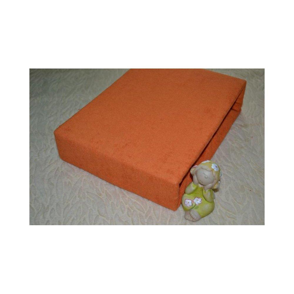 Plachta froté - 041/2 oranžová