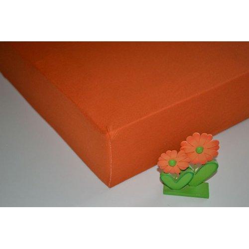 Plachta jersey - 041/2 oranžová