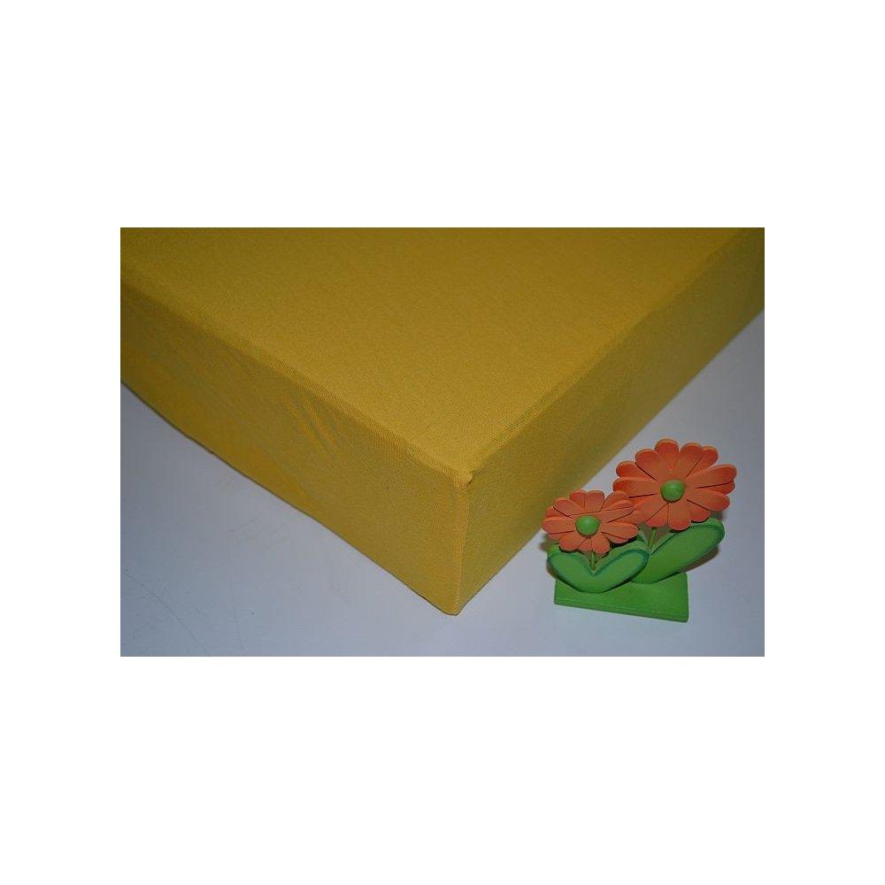 Plachta jersey - 029/1 žltá