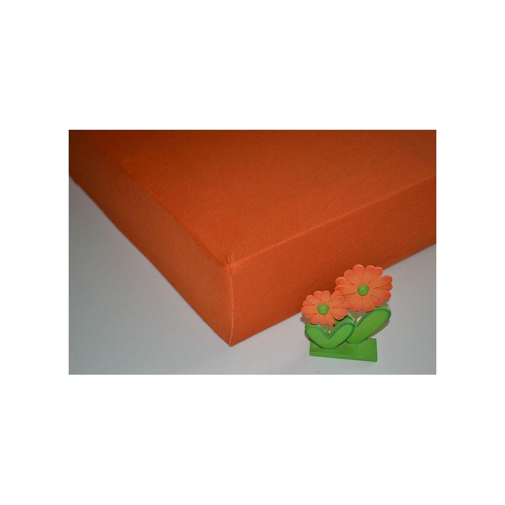 Plachta jersey - 041/1 oranžová