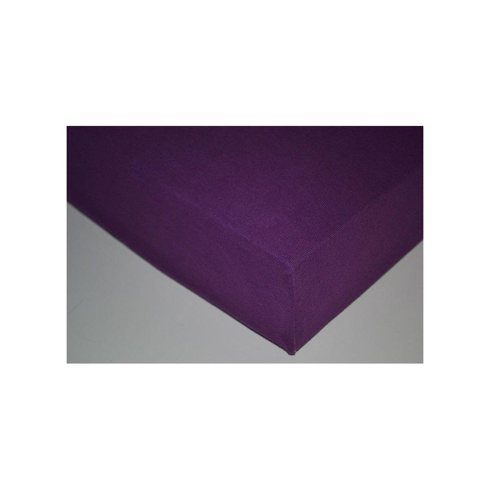 Plachta jersey - 051 slivková 90 x 200 cm