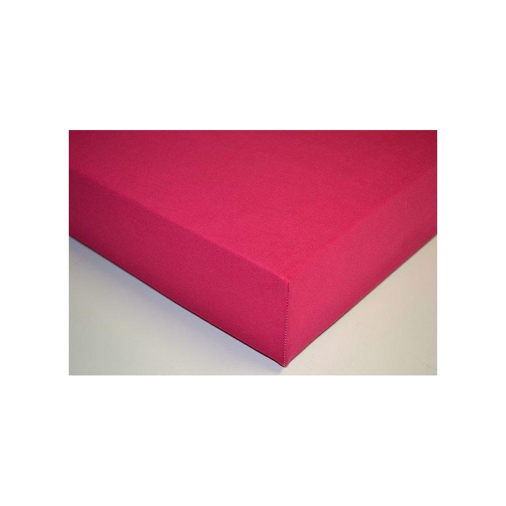 Plachta jersey - 050 fuksia 90 x 200 cm