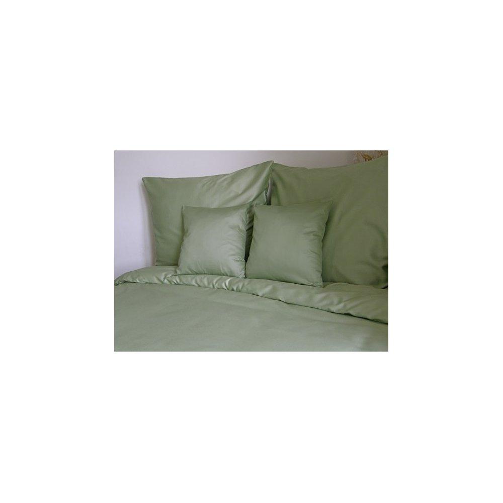 Návliečky jednofarebné 140 x 200 cm - olivovozelená