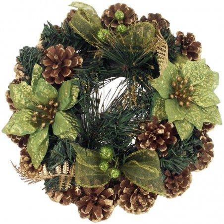Venček vianočný - zelený