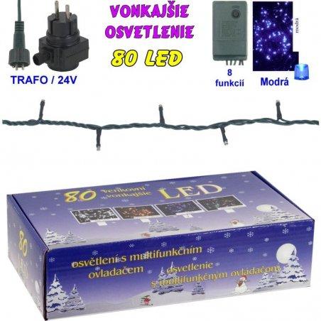 LED-80ž-24V/TRAF/8FUNK - Modrá