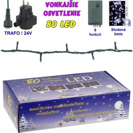 LED-80ž-24V/TRAF/8FUNK - Viacfarebná