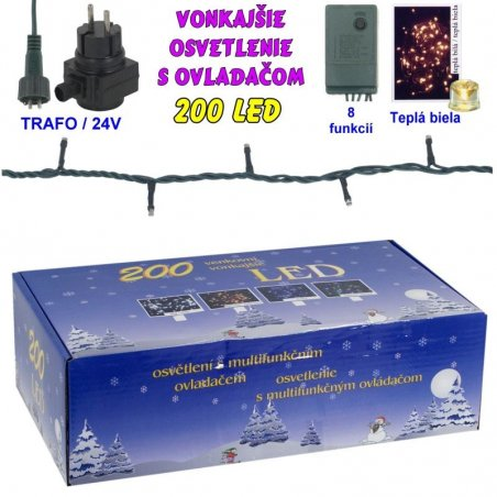 LED-80ž-24V/TRAF/8FUNK - Biela studená