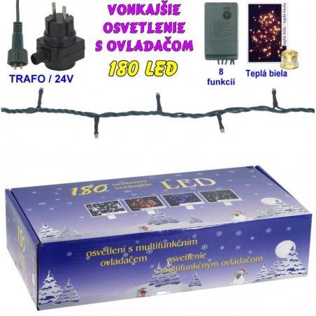 LED-180ž-24V/TRAF/8FUN - Biela studená