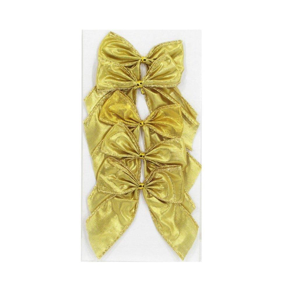Mašľa vianočná - Zlatá