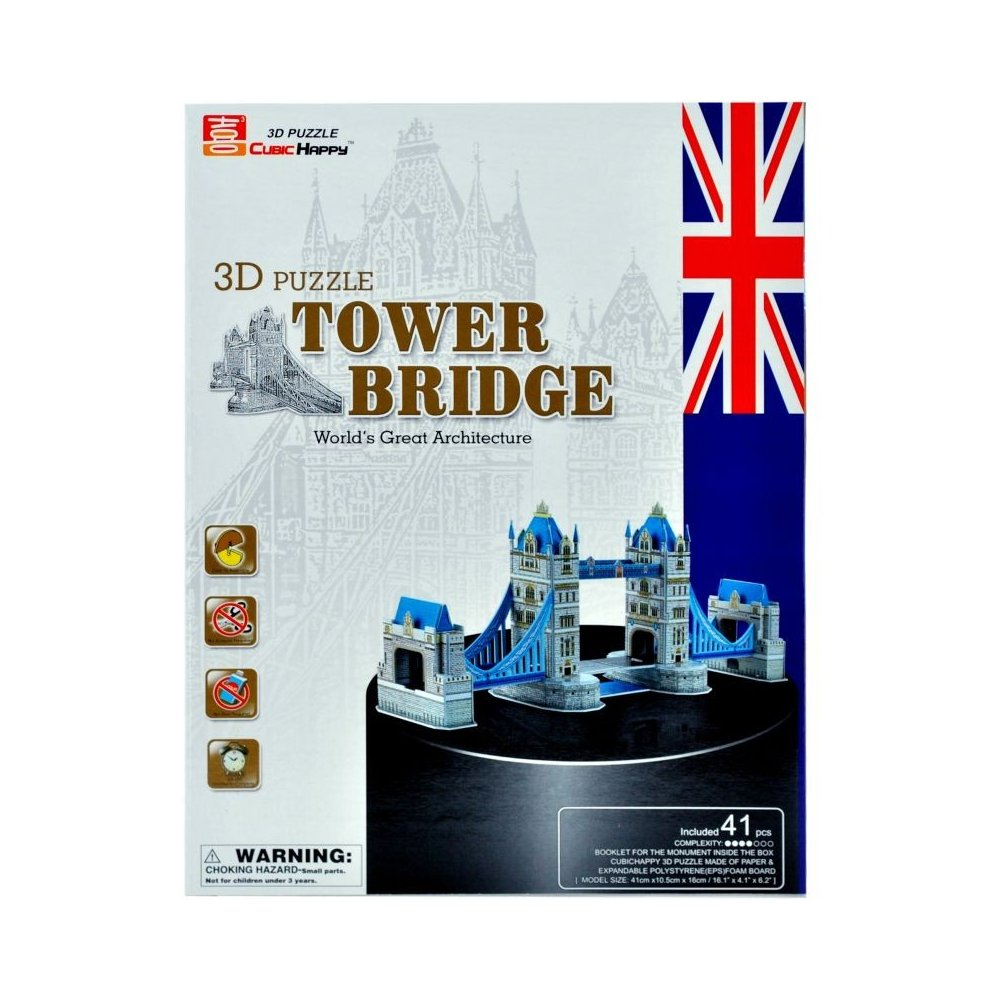 Puzzle 3D - TOWER BRDGE
