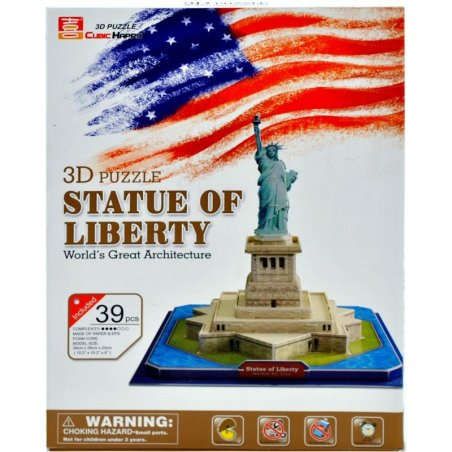 Puzzle 3D - STATUE OF LIBERTY