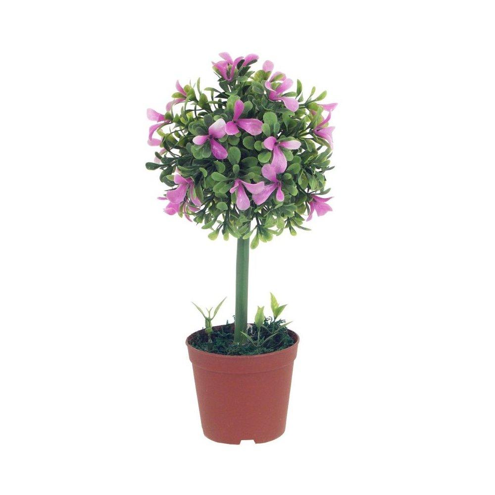Umelý kvet - kvitnúci na ružovo
