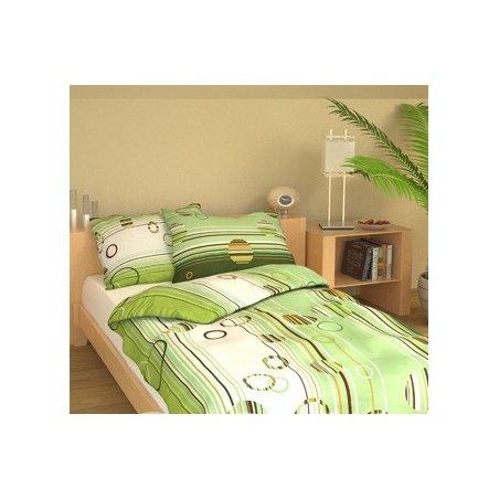 Obliečky 140 x 200 cm - Elipsa - zelená