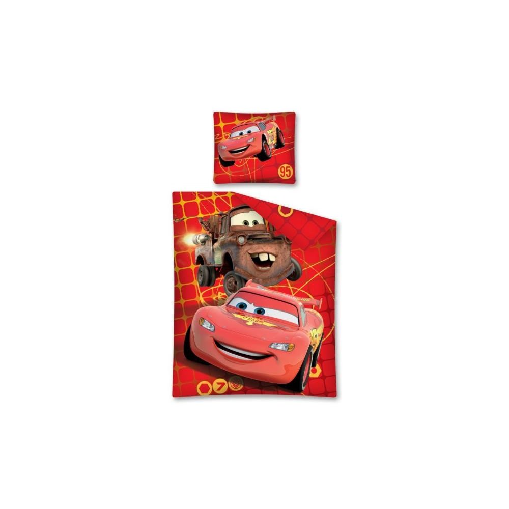 Detské obliečky Cars  červené  140 x200 cm