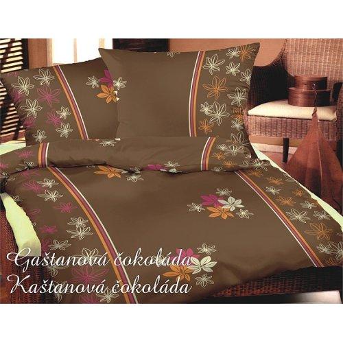Obliečky - Gaštanová hnedá 140 x 200 cm