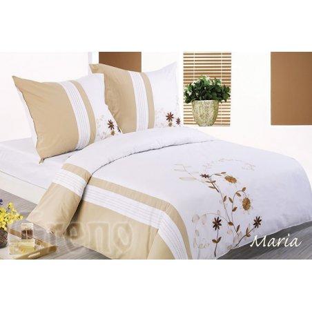 Vyšívané posteľné obliečky 200 x 220 cm - Maria