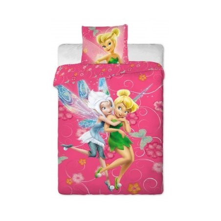 Disney obliečky 140 x 200 cm - Fairies pinkie