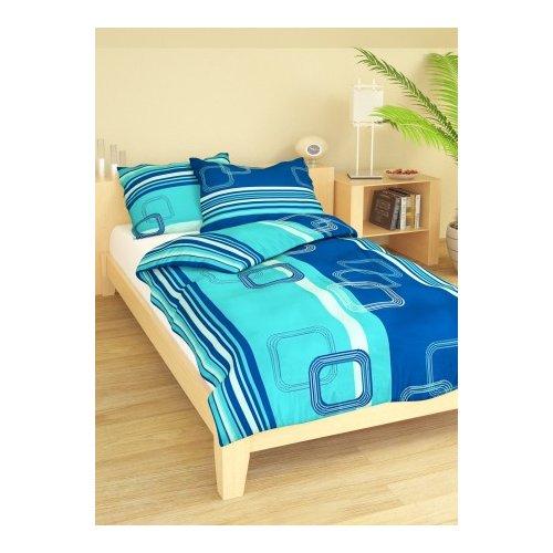 Obliečky Loren modré - 140 x 200 cm