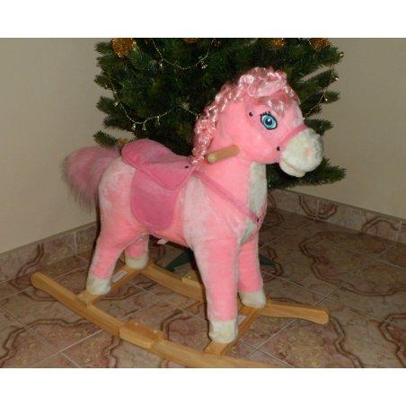 Hojdací koník - Baby Mix Princess rose