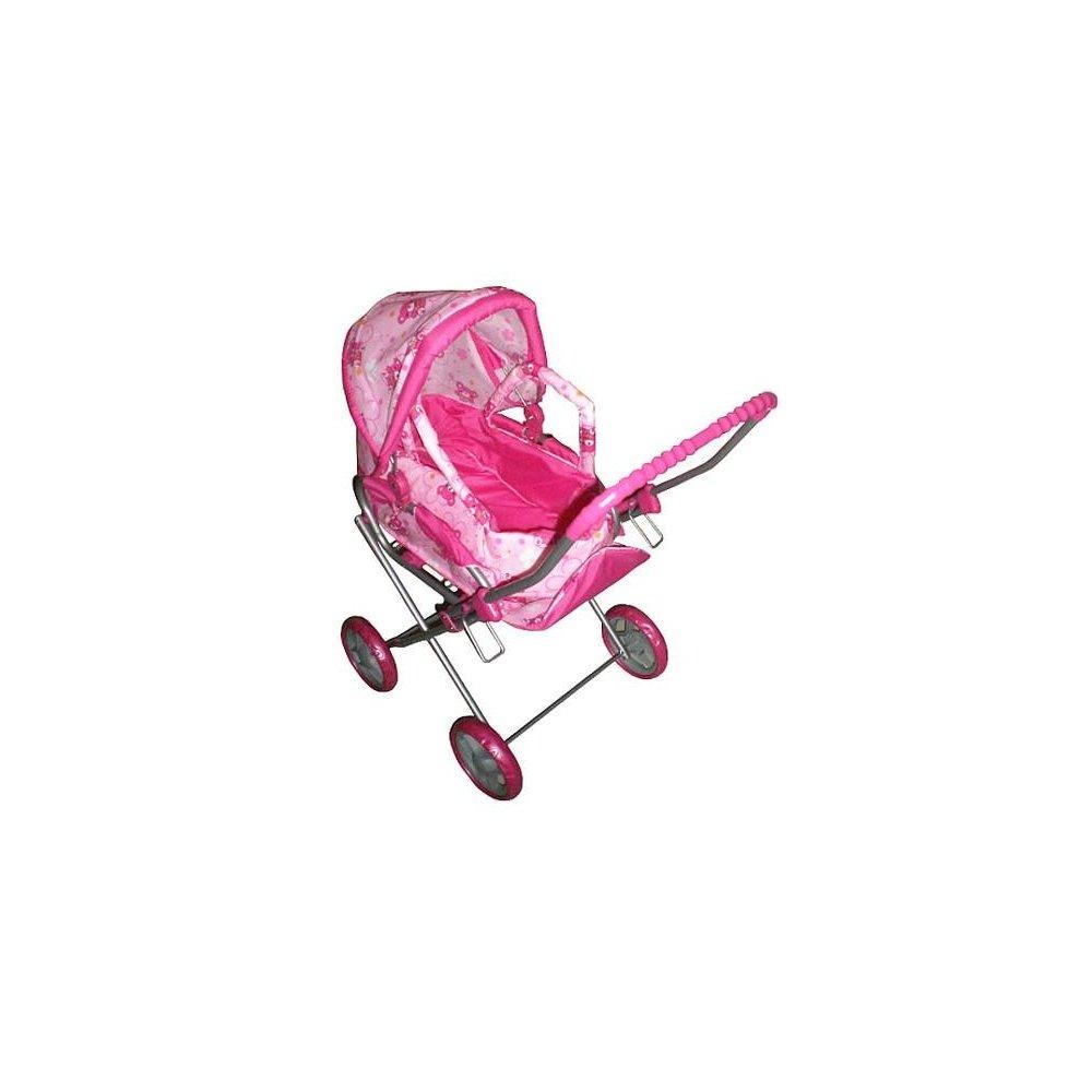Hlboký kočík pre bábiky Baby Mix- Medvedíci