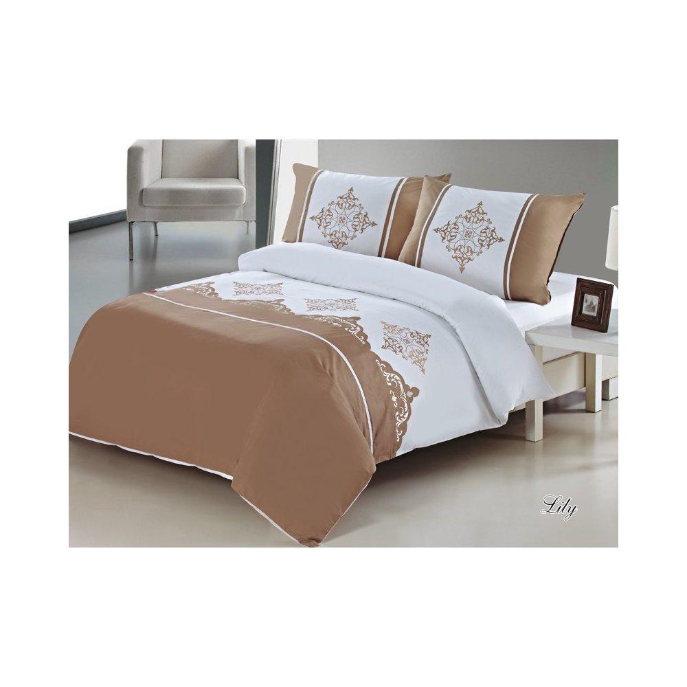 Vyšívané posteľné obliečky 200 x 220 cm - Lily