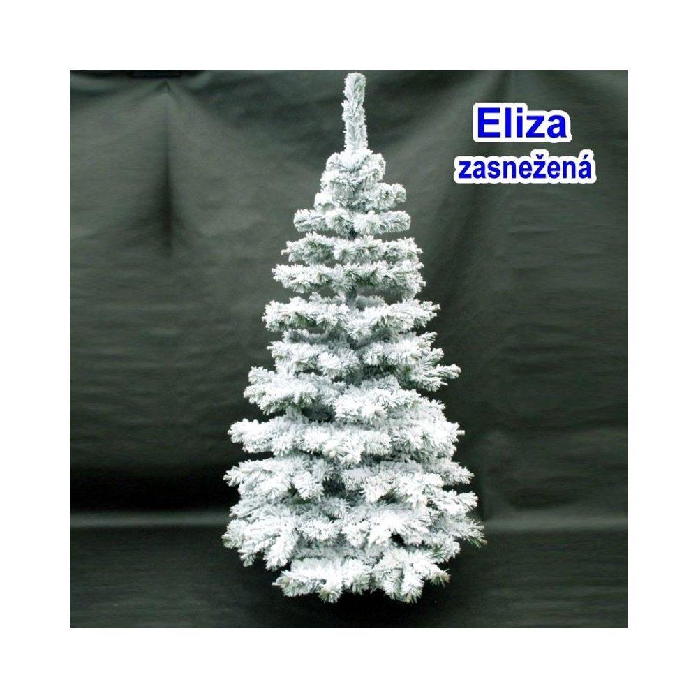 Vianočný stromček - Eliza snežná 150 cm - biela