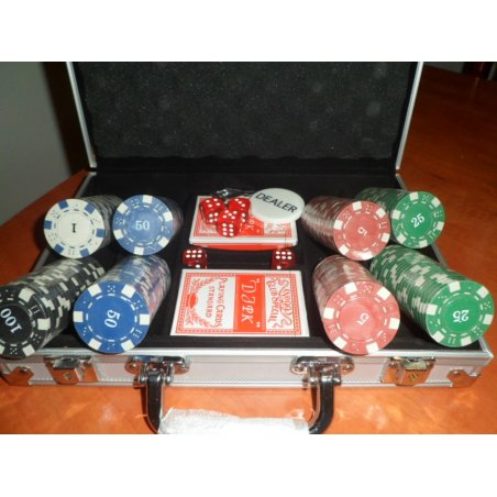 Poker set - kufrík II