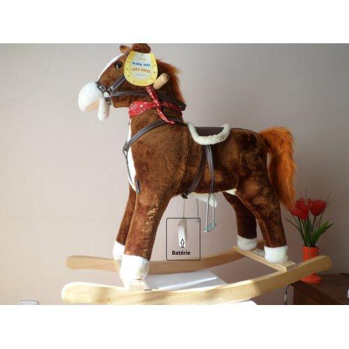 Baby Mix Hojdací koník - Lucky Jumper