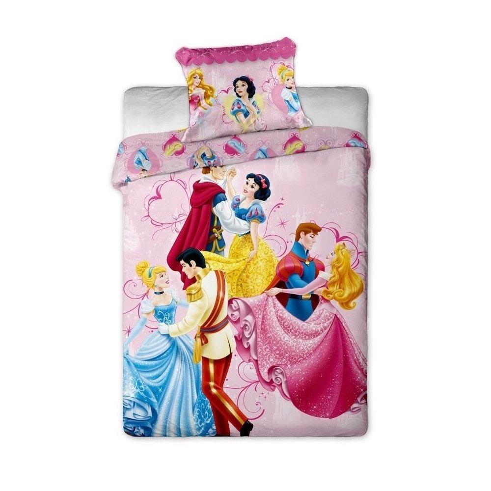 Disney obliečky 1ks x 140x200cm, 1ks x 70x90cm - Tancujúce princezny