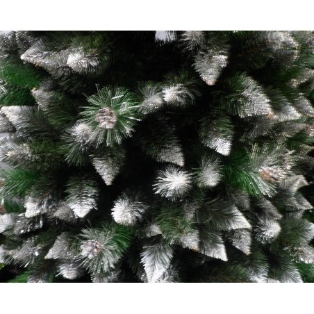 Umelý Vianočný stromček Sosna Verona - biele konce - 240m