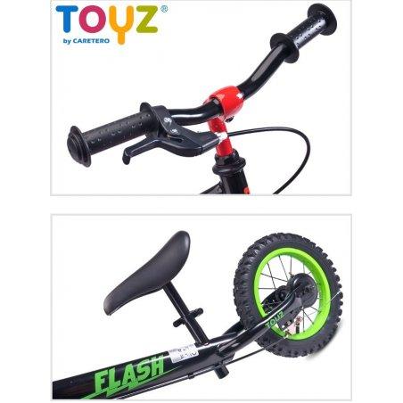 Detské odrážadlo bicykel TOYZ FLASH - modrý