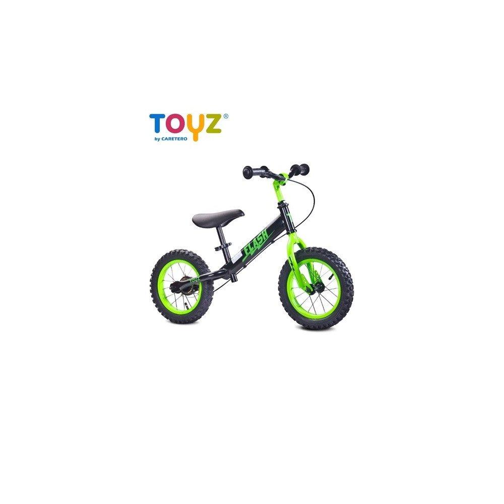 Detské odrážadlo bicykel TOYZ FLASH - zelený