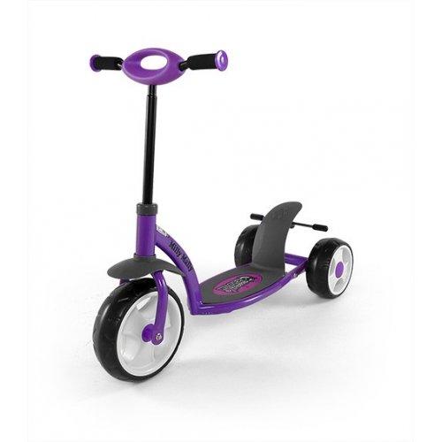 Detská kolobežka Milly Mally Scooter crazy- purple