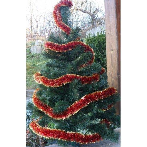 Vianočná girlanda - červená...