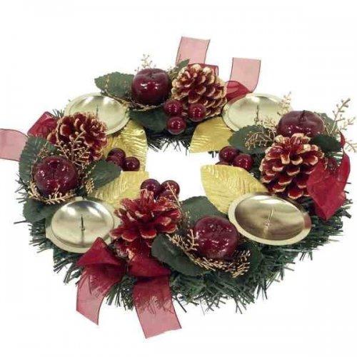 Vianočný adventný veniec...